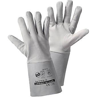 L+D worky ARGON-Stulpe 1710 Nappa Protective glove Size (gloves): 10, XL EN 12477-B, EN 388 , EN 407 CAT II 1 Pair