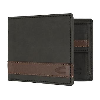 Camel active mens wallet wallet purse with RFID-chip protection black 7309