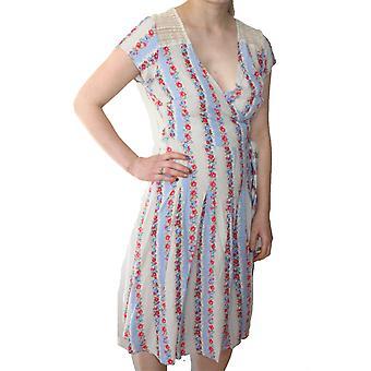 Darling vrouwen ' s Floral Bridgette wrap dress
