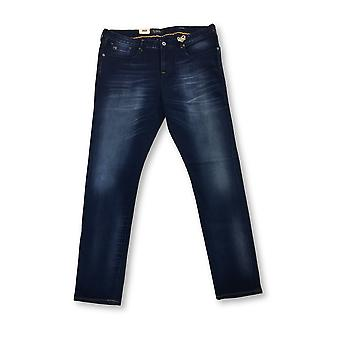 Scotch & Soda Catch 22 tailored slim over dyed jeans in blue