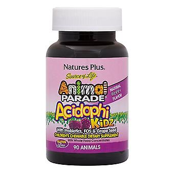 Nature's Plus Animal Parade Acidophikidz chewables 90 (29969)