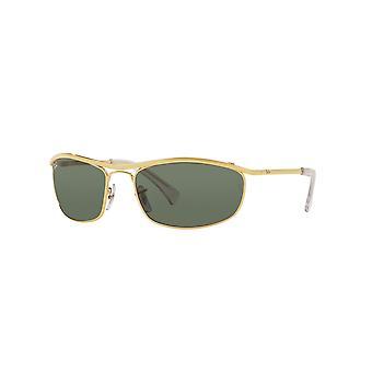 راي بان RB3119 001 الذهب اريستا النظارات الشمسية