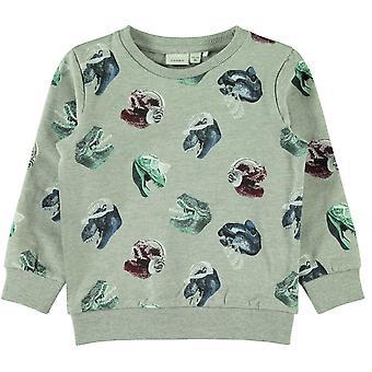 Name-It Jongens Sweater Nate Grey Melange