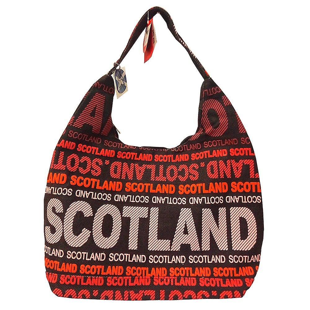 Robin Ruth Scotland Words Black/red Shoulder Bag