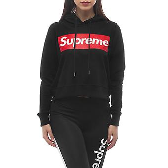 Black Sweatshirt Supreme Grip Women