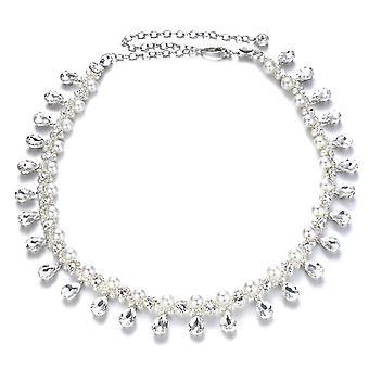 42 pouces Perle Diamante Ceinture de taille en pierre de Rhin