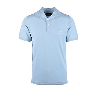 Belstaff S/s Polo Shirt Sky Blue