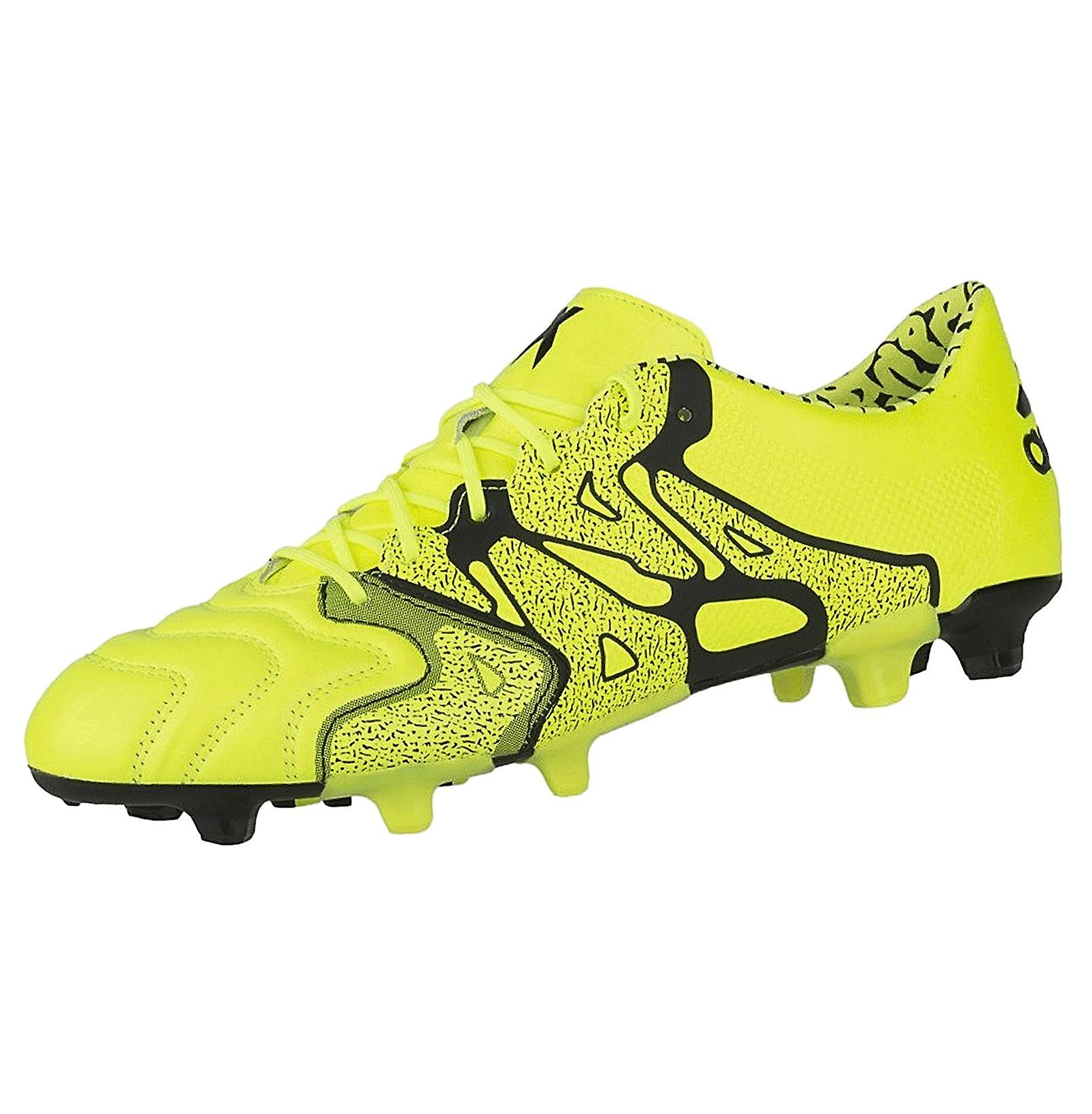 adidas Performance Men's X15.1 FG/AG Firm / Artificial Ground Leather Football Boots