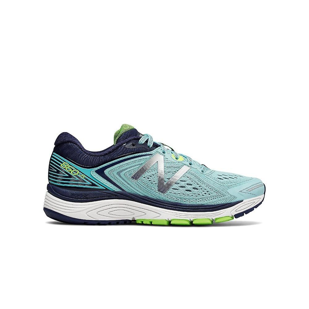 New Balance 860v8 Womens D Width (wide) Support Road Running Shoes Blue