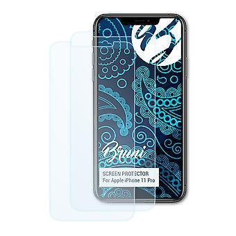 ブルーニ2xスクリーンプロテクターは、アップルのiPhone 11プロ保護フィルムと互換性があります