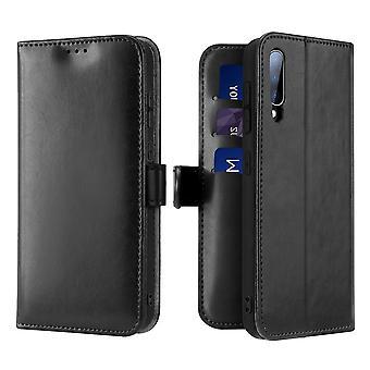 Dux Ducis Kado Samsung Galaxy A50 Monedero Caso Caso Negro