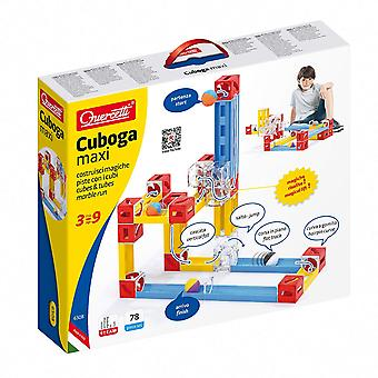 Quercetti Cuboga Maxi Building Block Marble Run STEAM Toy Ages 3-9 Years