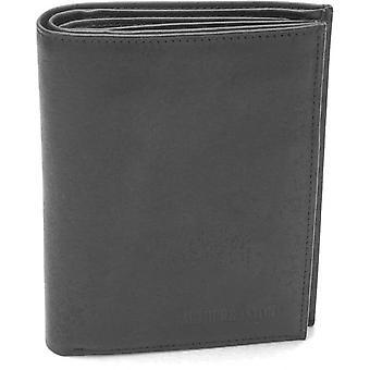 Fold 4 Volets Brieftasche - Leder