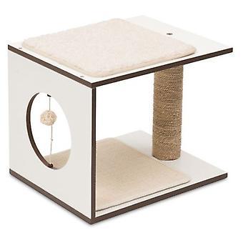 Hagen Vesper V-skammel hvid (katte, legetøj, skrabe stillinger)