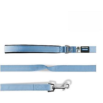 Curli Correa para Perros Basic Nylon Azul Claro