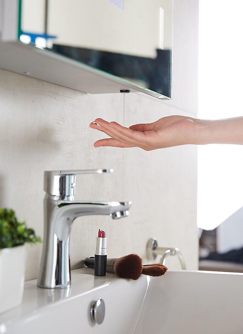 Elora LED Audio Bathroom Cabinet With Sensor, Shaver Socket k383aud