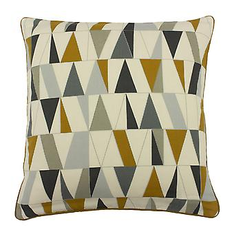 Furn Reno Cushion Cover with Tiled Geometric Design