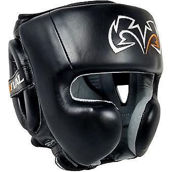 RIVAL Boxning RHG30 mexikansk träning huvudbonader - Svart