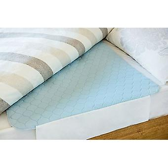 Double Washable Bed Protector Sheet Incontinence Pad with Tucks