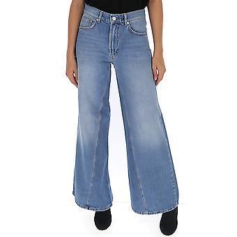Ganni F3633700 Femmes-apos;s Jeans bleu bleu clair