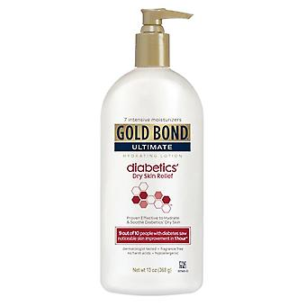 Gold bond ultimate diabetics' dry skin relief lotion, 13 oz