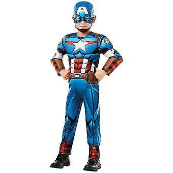Déguisement luxe Captain America série animée garçon