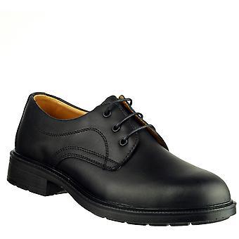 Amblers bezpieczeństwa FS45 męskie skórzane buty czarny