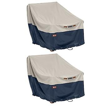 Classic Accessories Mainland Patio Lounge Chair Cover -2Pk, 38L X 35D X 31H (2Qty)