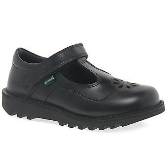 Kickers Kick T Flutter Girls Infant School Shoes