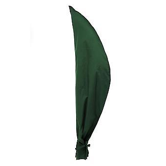 Gardenista GREEN Parasol Cover também adequado para Banana Cantilever Em Forma de Guarda Em Tela Impermeável Premium Heavy Duty. Fabricado no Reino Unido.