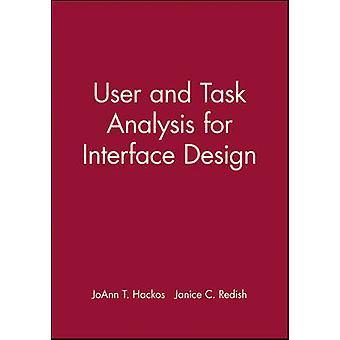 Bruker og oppgaveanalyse for grensesnitt design av JoAnn T. Hackos - Jani
