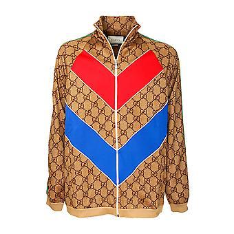 Gucci 523488x9v342035 Herren's Beige Polyester Outerwear Jacke