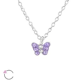Butterfly - 925 Sterling Silver Necklaces - W37647x