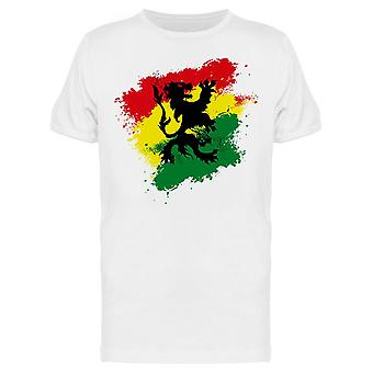 Rastafari Lion T-Shirt Herren-Bild von Shutterstock