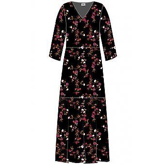 b.young Floral Print Maxi Dress