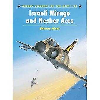 Mirage III israelense e Nescher Aces (Aeronave dos Ases)
