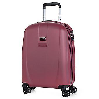 JASLEN Bucarest Handbagage Trolley S, 4 wielen, 39 cm, 35,5 L, Rood