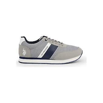 U.S. Polo Assn. - Skor - Sneakers - NOBIL4251S0-TH1-GREY - Män - grå, marin - EU 45