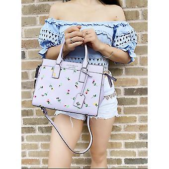 Kate spade cameron street medium satchel crossbody wildflower ditsy lilac