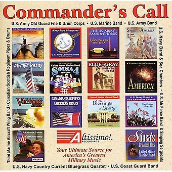 U.S. Army Band/U.S. Navy Band & Sea Chanters Choru - Commanders Call [CD] USA import