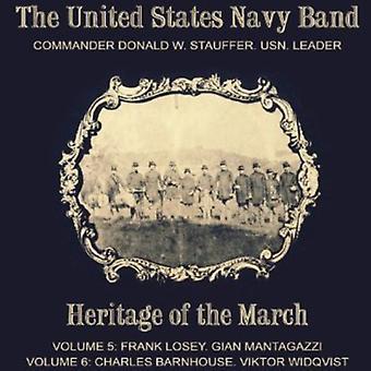 Losey/Mantagazzi/Barnhouse/Widqvist - património da marcha, Vols. 5-6 [CD] importação de EUA
