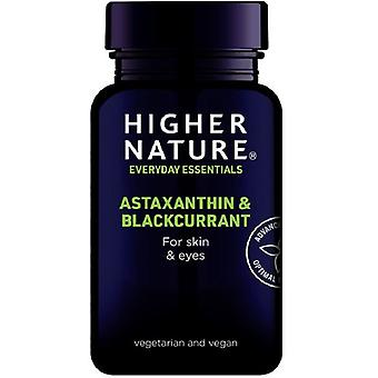 Higher Nature Astaxanthin & Blackcurrant Vegetable Capsules 30 (AST030)