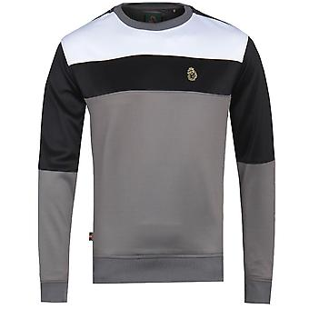 Luke 1977 Loki Colour Block Grey Sweatshirt