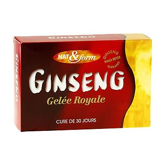 Ginseng & Royal Jelly 30 ampoules