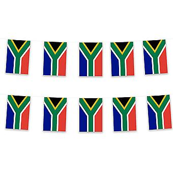Pack of 3 South Africa Bunting 15m Polyester Fabric Rugby Country