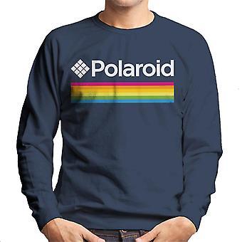 Polaroid Spectrum Logo Miehet&s Collegepaita