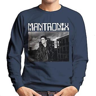 Mantronix DJ Kurtis Shot Men's Sweatshirt