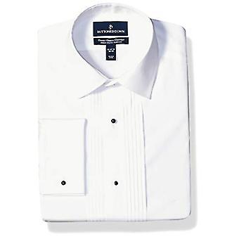 Brand - Buttoned Down Men's Classic Fit Easy Care Bib-Front Spread-Col...