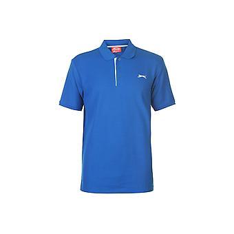 Slazenger Plain Polo Shirt Mens