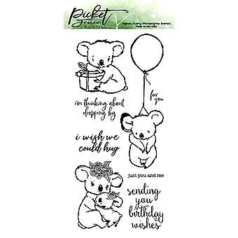 Picket Fence Studios I Wish We Could Hug Clear Stamps